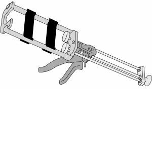 pistola per sika anchorfix 3+