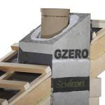 Attraversamento tetti in legno