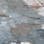 pavimenti in cemento deteriorati